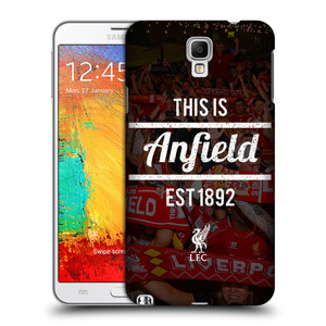 Plastové pouzdro na mobil Samsung Galaxy Note 3 Neo HEAD CASE LFC This Is Anfield