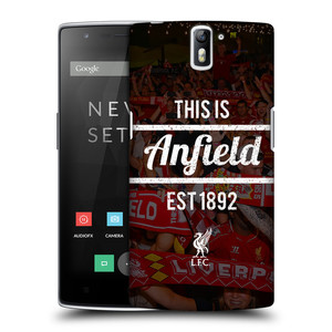 Plastové pouzdro na mobil OnePlus One HEAD CASE LFC This Is Anfield