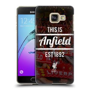 Plastové pouzdro na mobil Samsung Galaxy A3 (2016) HEAD CASE LFC This Is Anfield