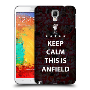 Plastové pouzdro na mobil Samsung Galaxy Note 3 Neo HEAD CASE Keep Calm This Is Anfield