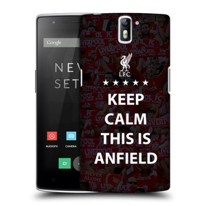 Plastové pouzdro na mobil OnePlus One HEAD CASE Keep Calm This Is Anfield