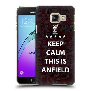 Plastové pouzdro na mobil Samsung Galaxy A3 (2016) HEAD CASE Keep Calm This Is Anfield