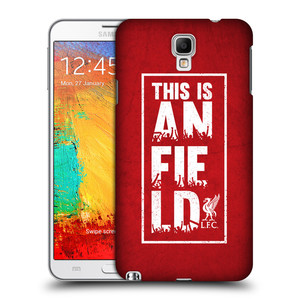 Plastové pouzdro na mobil Samsung Galaxy Note 3 Neo HEAD CASE Liverpool FC This Is Anfield Red