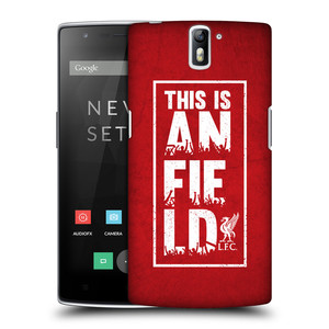 Plastové pouzdro na mobil OnePlus One HEAD CASE Liverpool FC This Is Anfield Red