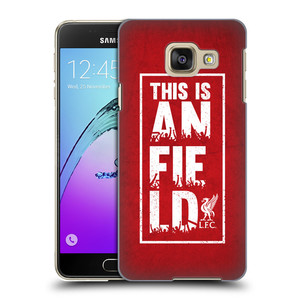 Plastové pouzdro na mobil Samsung Galaxy A3 (2016) HEAD CASE Liverpool FC This Is Anfield Red