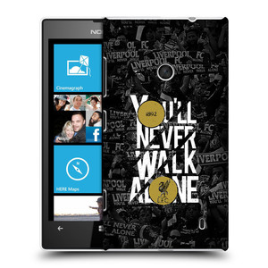 Plastové pouzdro na mobil Nokia Lumia 520 HEAD CASE 1892 LFC You'll Never Walk Alone