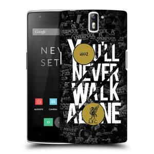 Plastové pouzdro na mobil OnePlus One HEAD CASE 1892 LFC You'll Never Walk Alone