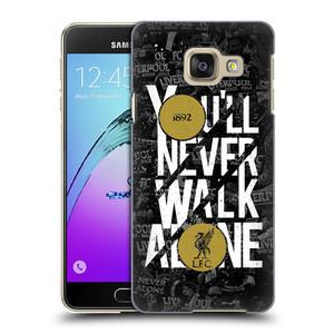 Plastové pouzdro na mobil Samsung Galaxy A3 (2016) HEAD CASE 1892 LFC You'll Never Walk Alone