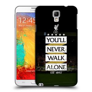 Plastové pouzdro na mobil Samsung Galaxy Note 3 Neo HEAD CASE LFC You'll Never Walk Alone