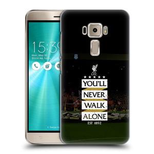 Plastové pouzdro na mobil Asus ZenFone 3 ZE520KL HEAD CASE LFC You'll Never Walk Alone