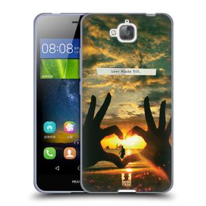 Silikonové pouzdro na mobil Huawei Y6 Pro Dual Sim HEAD CASE LÁSKA SI TĚ NAJDE