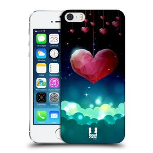 Plastové pouzdro na mobil Apple iPhone SE, 5 a 5S HEAD CASE LOVE AFFLOAT SRDCE