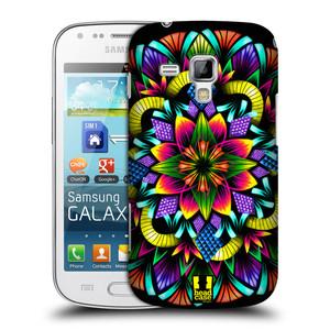 Plastové pouzdro na mobil Samsung Galaxy Trend Plus HEAD CASE Květina mandala
