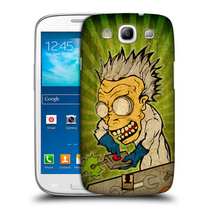 Plastové pouzdro na mobil Samsung Galaxy S III HEAD CASE INFUSE