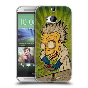 Silikonové pouzdro na mobil HTC ONE M8 HEAD CASE INFUSE