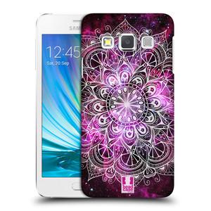 Plastové pouzdro na mobil Samsung Galaxy A3 HEAD CASE Mandala Doodle Nebula