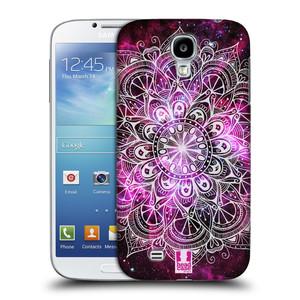 Plastové pouzdro na mobil Samsung Galaxy S4 HEAD CASE Mandala Doodle Nebula