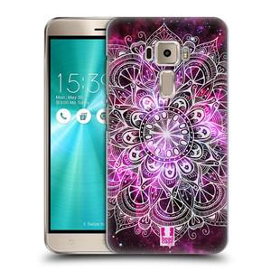 Plastové pouzdro na mobil Asus ZenFone 3 ZE520KL HEAD CASE Mandala Doodle Nebula