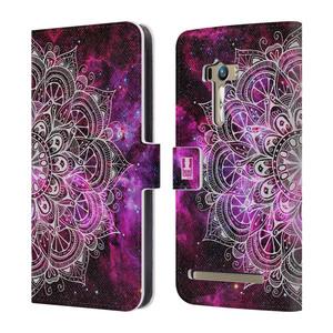 Flipové pouzdro na mobil Asus Zenfone Selfie ZD551KL HEAD CASE Mandala Doodle Nebula