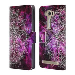 Flipové pouzdro na mobil Asus ZenFone 2 Laser ZE500KL HEAD CASE Mandala Doodle Nebula