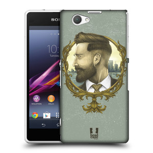 Plastové pouzdro na mobil Sony Xperia Z1 Compact D5503 HEAD CASE HIPSTER GENTLEMAN