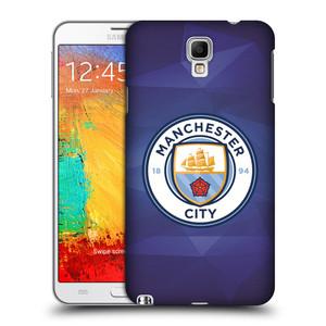 Plastové pouzdro na mobil Samsung Galaxy Note 3 Neo HEAD CASE Manchester City FC - Modré nové logo