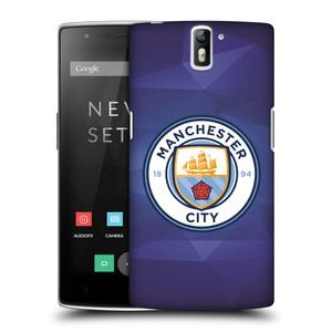 Plastové pouzdro na mobil OnePlus One HEAD CASE Manchester City FC - Modré nové logo