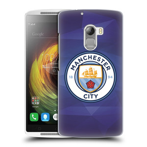 Plastové pouzdro na mobil Lenovo A7010 HEAD CASE Manchester City FC - Modré nové logo