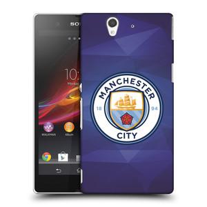 Plastové pouzdro na mobil Sony Xperia Z C6603 HEAD CASE Manchester City FC - Modré nové logo