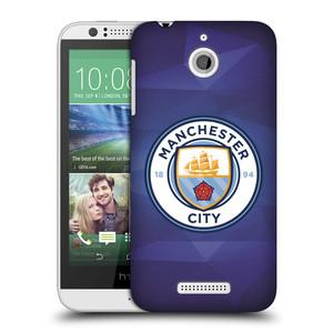 Plastové pouzdro na mobil HTC Desire 510 HEAD CASE Manchester City FC - Modré nové logo