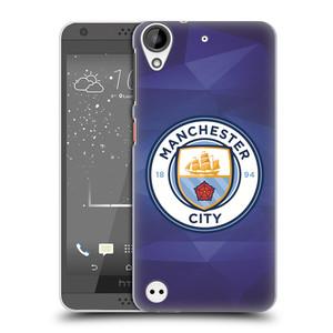 Plastové pouzdro na mobil HTC Desire 530 HEAD CASE Manchester City FC - Modré nové logo