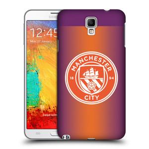 Plastové pouzdro na mobil Samsung Galaxy Note 3 Neo HEAD CASE Manchester City FC - Oranžové nové logo