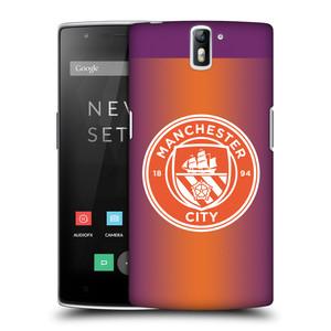 Plastové pouzdro na mobil OnePlus One HEAD CASE Manchester City FC - Oranžové nové logo