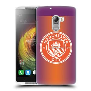 Plastové pouzdro na mobil Lenovo A7010 HEAD CASE Manchester City FC - Oranžové nové logo