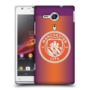 Plastové pouzdro na mobil Sony Xperia SP C5303 HEAD CASE Manchester City FC - Oranžové nové logo