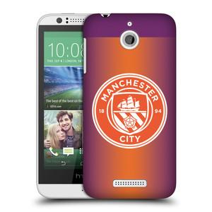Plastové pouzdro na mobil HTC Desire 510 HEAD CASE Manchester City FC - Oranžové nové logo