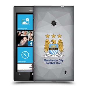Plastové pouzdro na mobil Nokia Lumia 520 HEAD CASE Manchester City FC - Football Club
