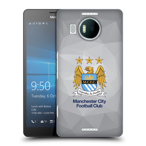 Plastové pouzdro na mobil Microsoft Lumia 950 XL HEAD CASE Manchester City FC - Football Club