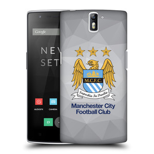 Plastové pouzdro na mobil OnePlus One HEAD CASE Manchester City FC - Football Club
