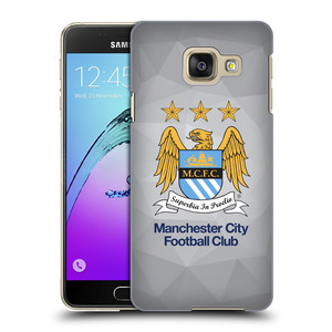 Plastové pouzdro na mobil Samsung Galaxy A3 (2016) HEAD CASE Manchester City FC - Football Club