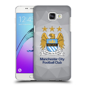 Plastové pouzdro na mobil Samsung Galaxy A5 (2016) HEAD CASE Manchester City FC - Football Club