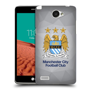 Plastové pouzdro na mobil LG Bello II HEAD CASE Manchester City FC - Football Club