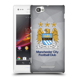 Plastové pouzdro na mobil Sony Xperia M C1905 HEAD CASE Manchester City FC - Football Club