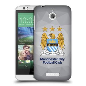 Plastové pouzdro na mobil HTC Desire 510 HEAD CASE Manchester City FC - Football Club