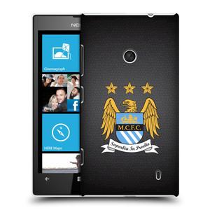 Plastové pouzdro na mobil Nokia Lumia 520 HEAD CASE Manchester City FC - Superbia In Proelio