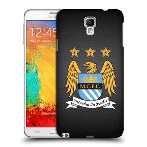 Plastové pouzdro na mobil Samsung Galaxy Note 3 Neo HEAD CASE Manchester City FC - Superbia In Proelio