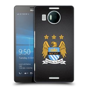 Plastové pouzdro na mobil Microsoft Lumia 950 XL HEAD CASE Manchester City FC - Superbia In Proelio