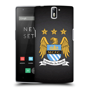 Plastové pouzdro na mobil OnePlus One HEAD CASE Manchester City FC - Superbia In Proelio