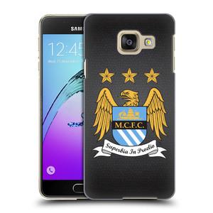 Plastové pouzdro na mobil Samsung Galaxy A3 (2016) HEAD CASE Manchester City FC - Superbia In Proelio