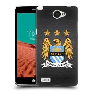 Plastové pouzdro na mobil LG Bello II HEAD CASE Manchester City FC - Superbia In Proelio